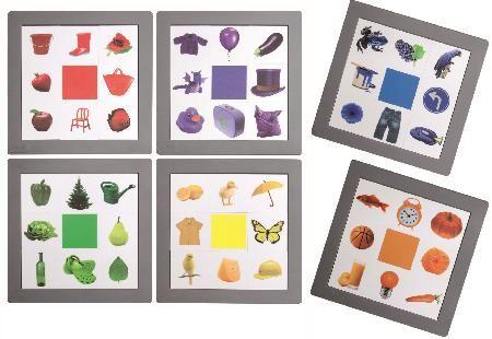 Farben Jagd - Farbensortierspiel zum Farben lernen
