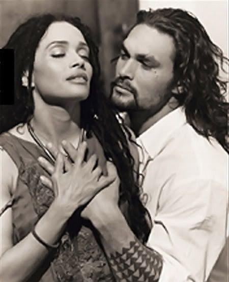 (Lisa Bonet &) Jason Momoa,,, they look sooo good together