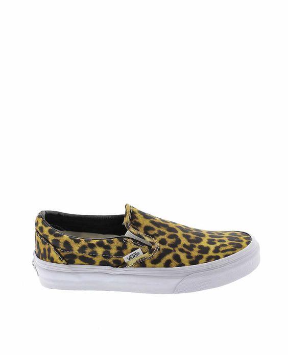 Zapatillas VANS leopardo SLIP,ON