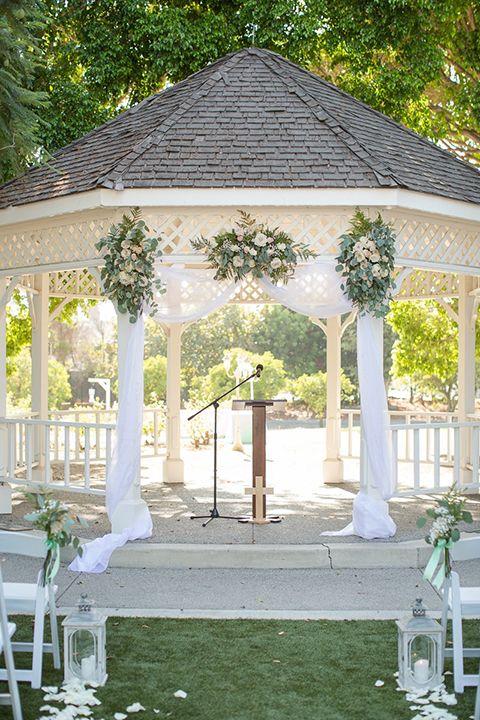 How To Design A Vintage Styled Wedding Outdoor Wedding Gazebo Gazebo Wedding Decorations Summer Wedding Outdoor