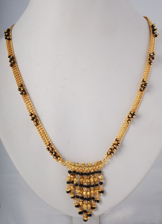 Latest Gold Mangalsutra Designs Short And Long
