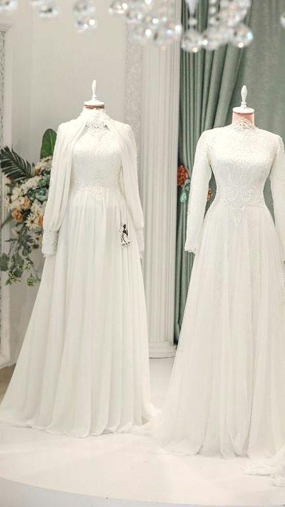 Notitle Tesettur Modelleri Notitle Tesettur Modelleri 2020 Muslim Wedding Dresses Dresses Wedding Dresses