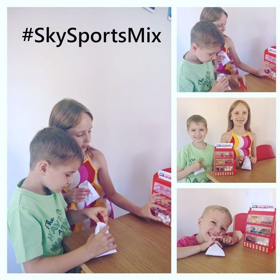 The kids LOVED their surprise package from #SkySportsMix now Daddy wants to know I we can get the real Sky Sports Mix on TV for him