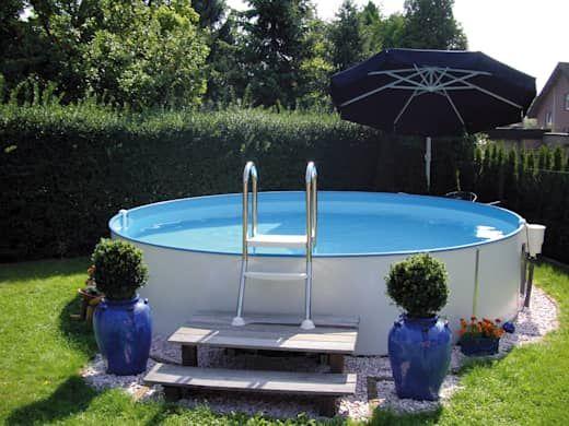 22 Mini Pools Die Sich Fantastisch In Deinem Garten Machen Teil 1 Homify Above Ground Pool Landscaping Backyard Pool Landscaping Mini Pool
