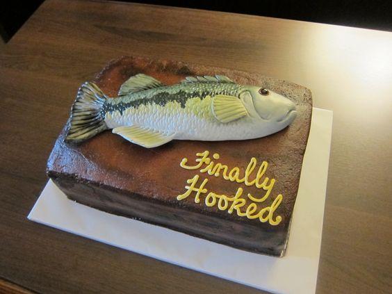 Willie's Fishing Groom's Cake, October 2013