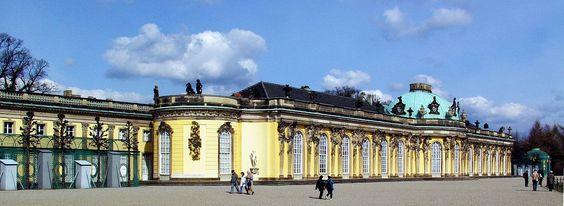 Potsdam - Schloss Sanssouci - Sanssouci - Wikipedia, the free encyclopedia