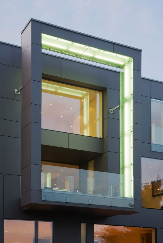 Modern houses by - Modern Villa In Dortmund By Drp Baukunst Equitone Facade