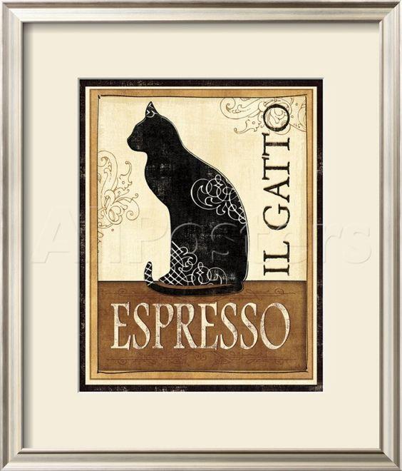 オールポスターズの ヴェロニック・シャロン「Il Gatto」ポスター