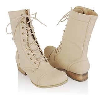 Daily steal: Canvas combat boots, $40 | Fashion weeks, Shopping ...