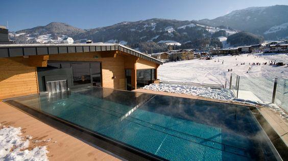 Rooftop Pool Zillertal