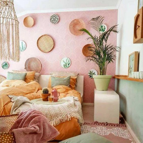 Kombinasi Warna Cat Kamar Pink Salem 3