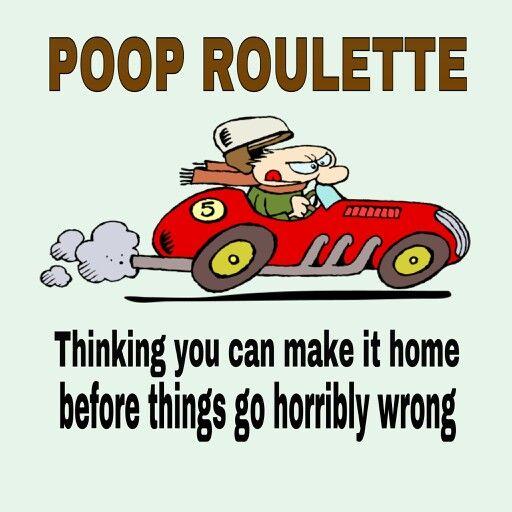 Poop roulette
