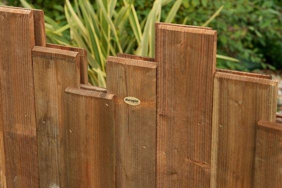 Panneaux Nymphea En Pin Classe 4 Marron Par Impregnation Technologie Durapin Vivre En Bois Panneau Bois Cloture Bois