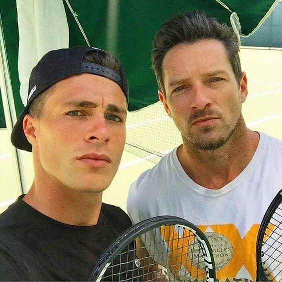 Colton Haynes & Ian Bohen tennis