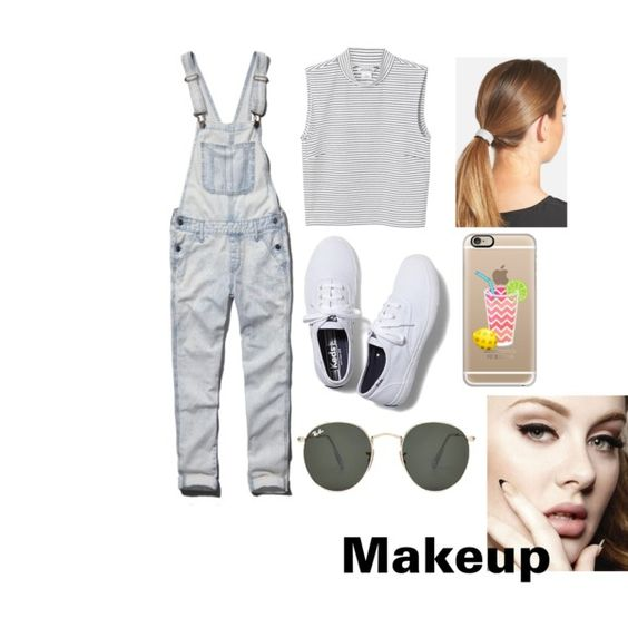 Too hot!!/Trip to Thorpe park by asha-hoque on Polyvore featuring polyvore, interior, interiors, interior design, home, home decor, interior decorating, Monki, Abercrombie & Fitch, Keds, Ray-Ban, Casetify and L. Erickson