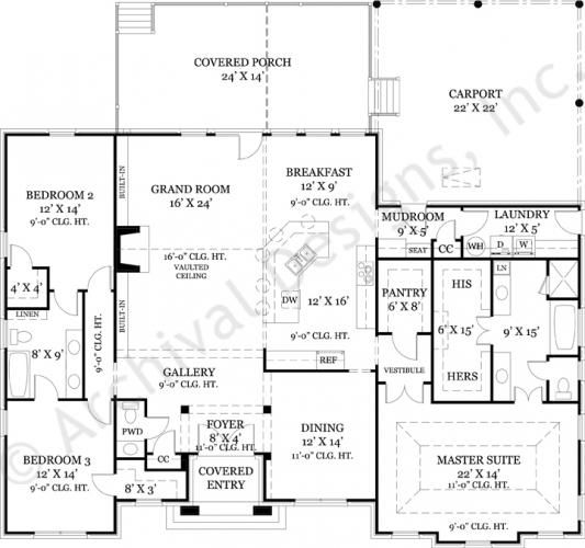 House plans retirement house design plans Retirement house designs