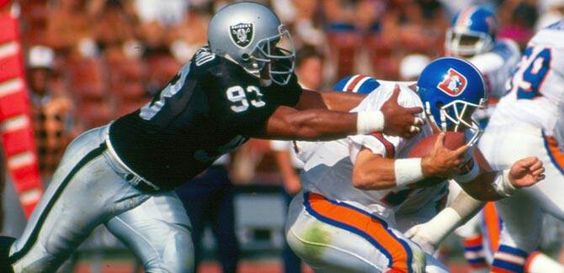 Greg Townsend 4th Round Pick 1983 1993 1997 Raiders Alltime Sack Leader Oakland Raiders Nfl Raiders Raiders