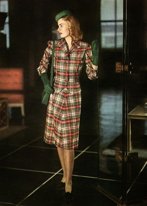 Chronically Vintage: Fabulous 1940s Fall Fashion Inspiration