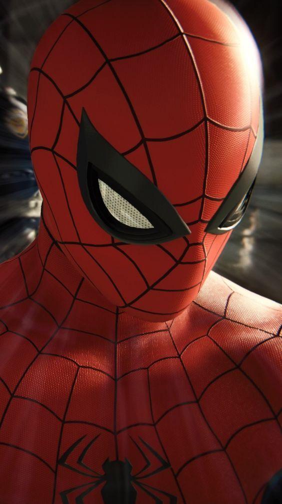 Spiderman Wallpaper 4k Superhero 4k Wallpaper Hd Lockscreen 4kwallpaper 4kwallpaperphone 4kchristma Marvel Kahramanlari Poertre Resimleri Orumcek Adam
