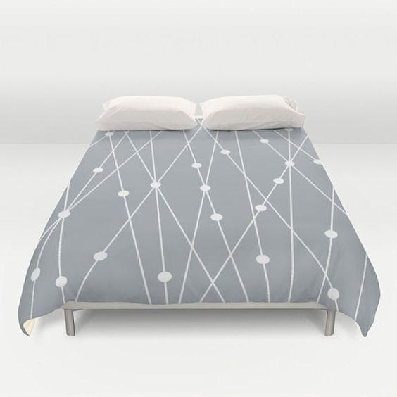 custom color duvet designer duvet cover bed cover modern bedding king queen
