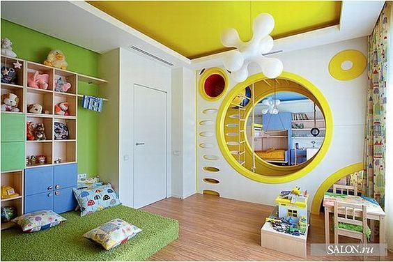 Fun & modern playroom