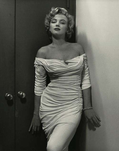 Actress Marilyn Monroe.  So timeless it could still be worn now.