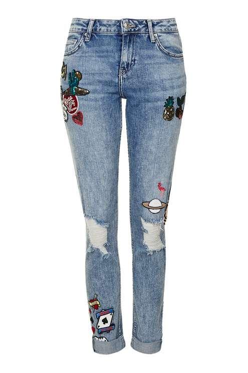 MOTO Lucas Boyfriend Jeans:
