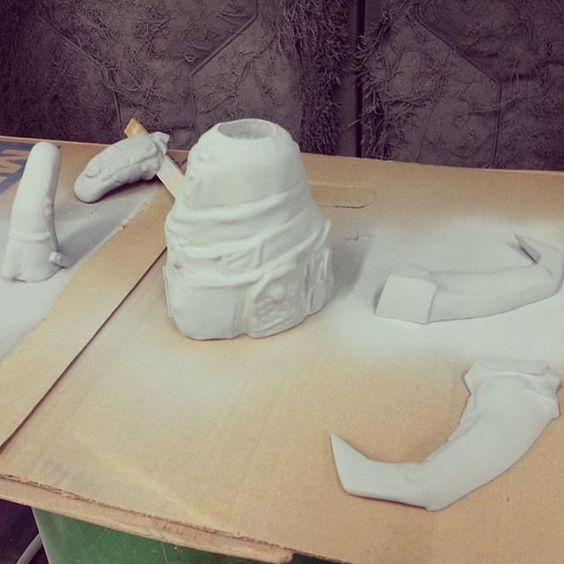 Regram of #Furiosa #cosplay progress from @overworlddesigns!