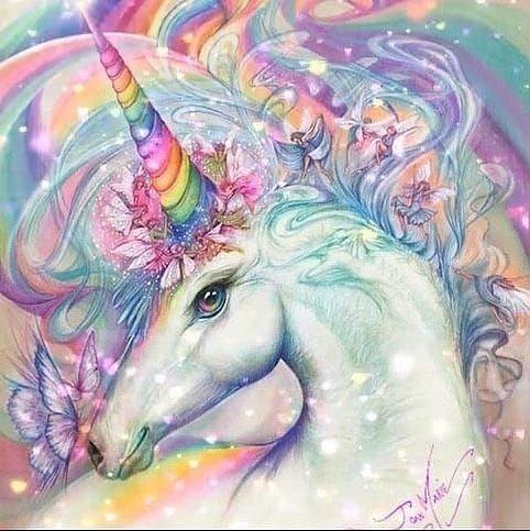 Unicorns Are Real Via With Images Unicorn Painting Unicorn