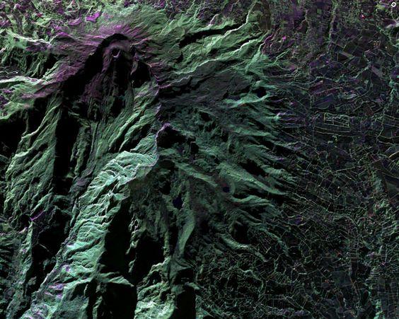 Der Galeras - nahe der Stadt Pasto - ist einer der gefährlichsten Vulkane Kolumbiens.