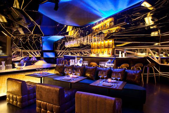 Alegra Restaurant Lounge And Bar By MrImportant Dubai Hotels - Bar design tribe hyperclub by paolo viera