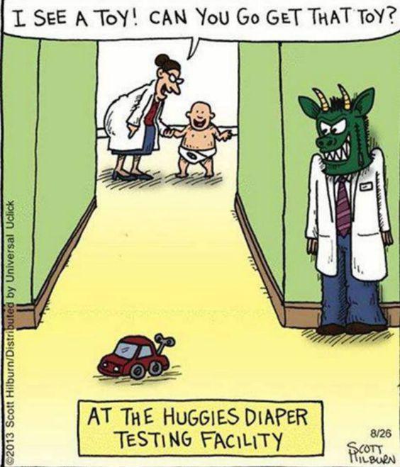 Huggies Diaper Testing Facility