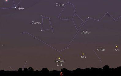 Un nuevo cometa recién descubierto será visible en las próximas noches