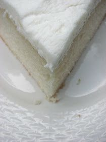 I have always wanted to find an awesome recipe for white cake. White cake with white buttercream is my favorite kind of cake. I have tried s...