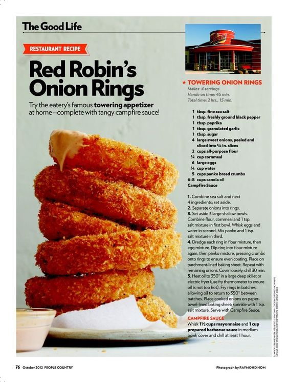 Red Robin's Onion Rings