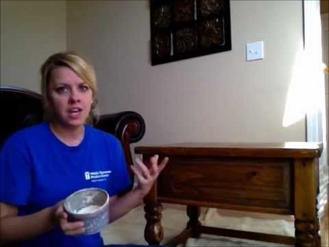 This girl has some fantastic tips on how to use Annie Sloan paint for beginners.  She mentions to water down the paint just a little bit to make it easier to work with and last longer.  Plus, why she likes this brand vs. others.