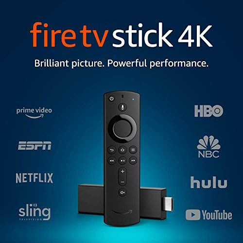 Fire Tv Stick 4k With Alexa Voice Remote Streaming Media Player