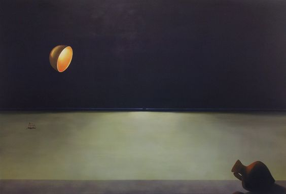 Pia Mater Dura Mater, Oil on canvas, 4' x 6', 2011, £2,750