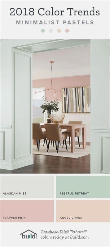 2018 Paint Color Trends Minimalist, Dining Room Paint Colors 2018