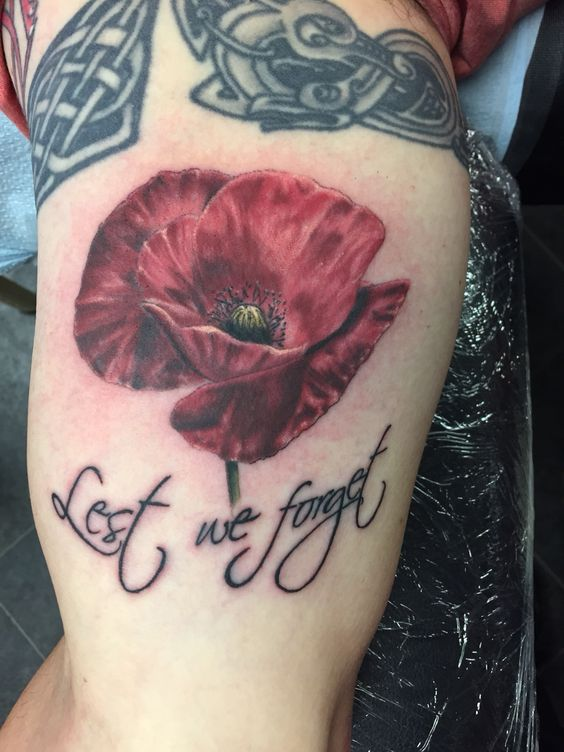 anzac poppy i did today tattoo pinterest poppies legs and tattoos and body art. Black Bedroom Furniture Sets. Home Design Ideas