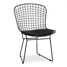 Stuhl BERTOIA -Schwarze Ausgabe-