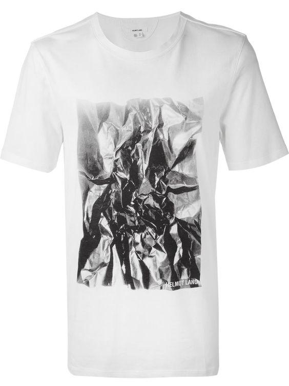 Helmut Lang Camiseta Com Estampa - Jofré - Farfetch.com
