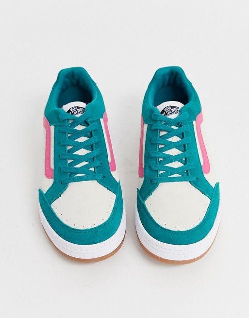 Vans Highland color block sneakers in