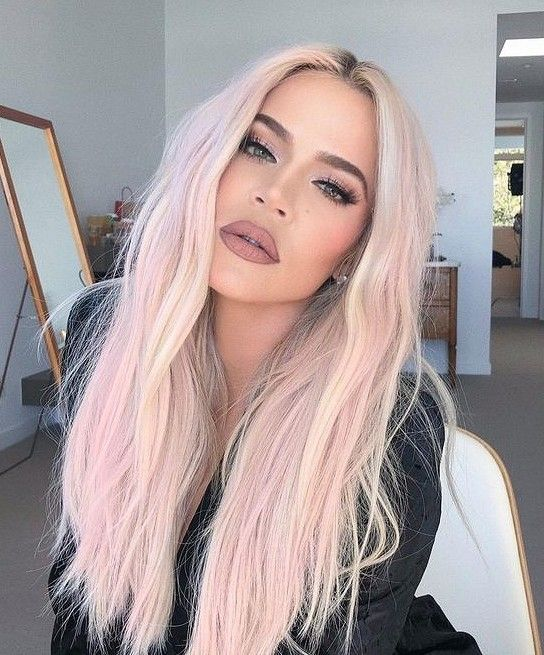 Pastel Pink And Blonde Hair Pastel Ombre Long Bob Hair Styles Hair Color Pink Light Pink Hair