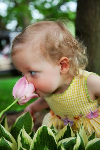 Charming Child ~ take time to smell the flowers along the ...