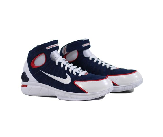 NIKE Air Zoom Huarache 2K4 - Midnight Navy/White-University Red