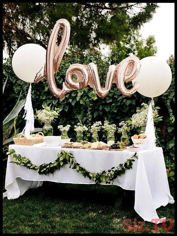 Unglaublich Love Luftballon Ros Gold Gold Silber Pink