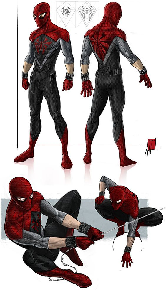 Gallery For gt Alternate Spiderman Costumes