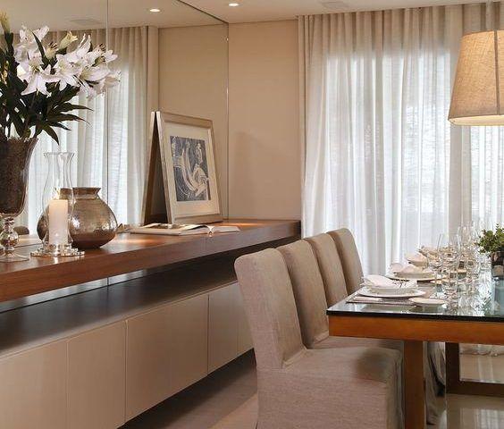 25 Comedores Decorados Con Espejos Decoracion De Interiores - Comedores-decorados