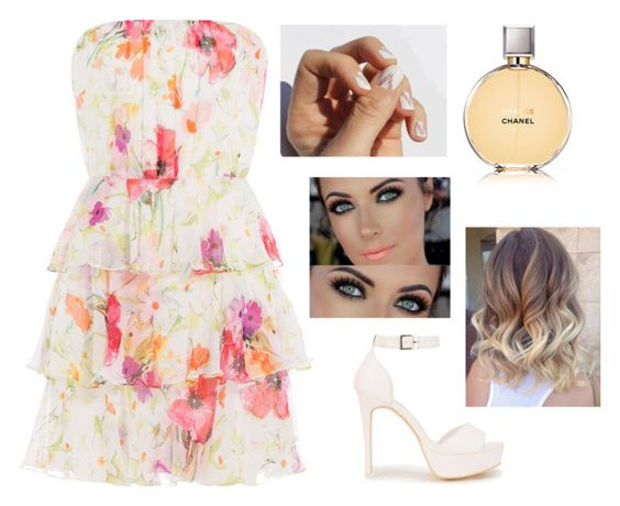"""""""Untitled #662"""" by aneesakhan02 ❤ liked on Polyvore featuring Polo Ralph Lauren, Nly Shoes and Chanel"""